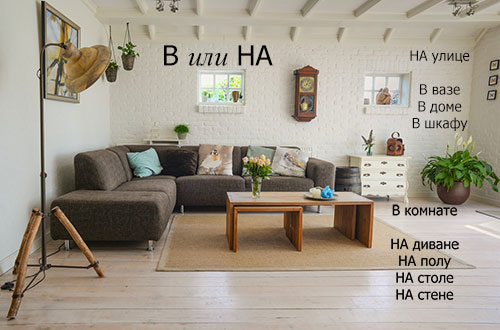 "How to use prepositions ""В"" and ""НА"""