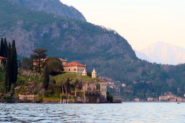 lago di como italia a golpe de objetivo villa balbianello