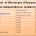 Enhancement of monetary allowance attached to the Post-Independence Gallantry Awards