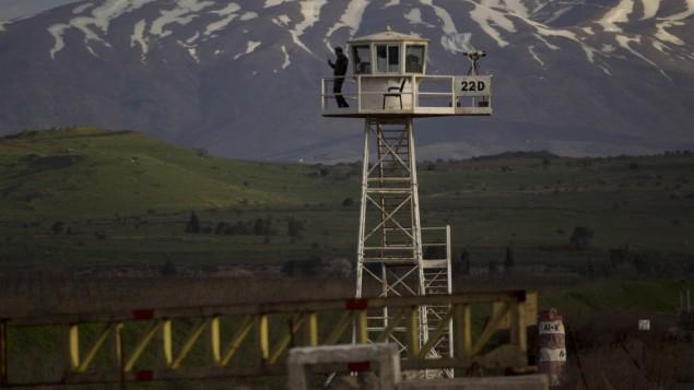 Fuerza de las Naciones Unidas de Observación de la Separación en Siria