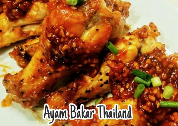 cara membuat Ayam Bakar Thailand