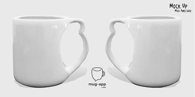 Desain Mock Up Mug in Mug-App