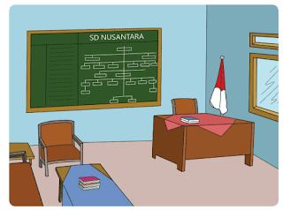 SD Nusantara tempat Siti dan teman-temannya bersekolah www.simplenews.me