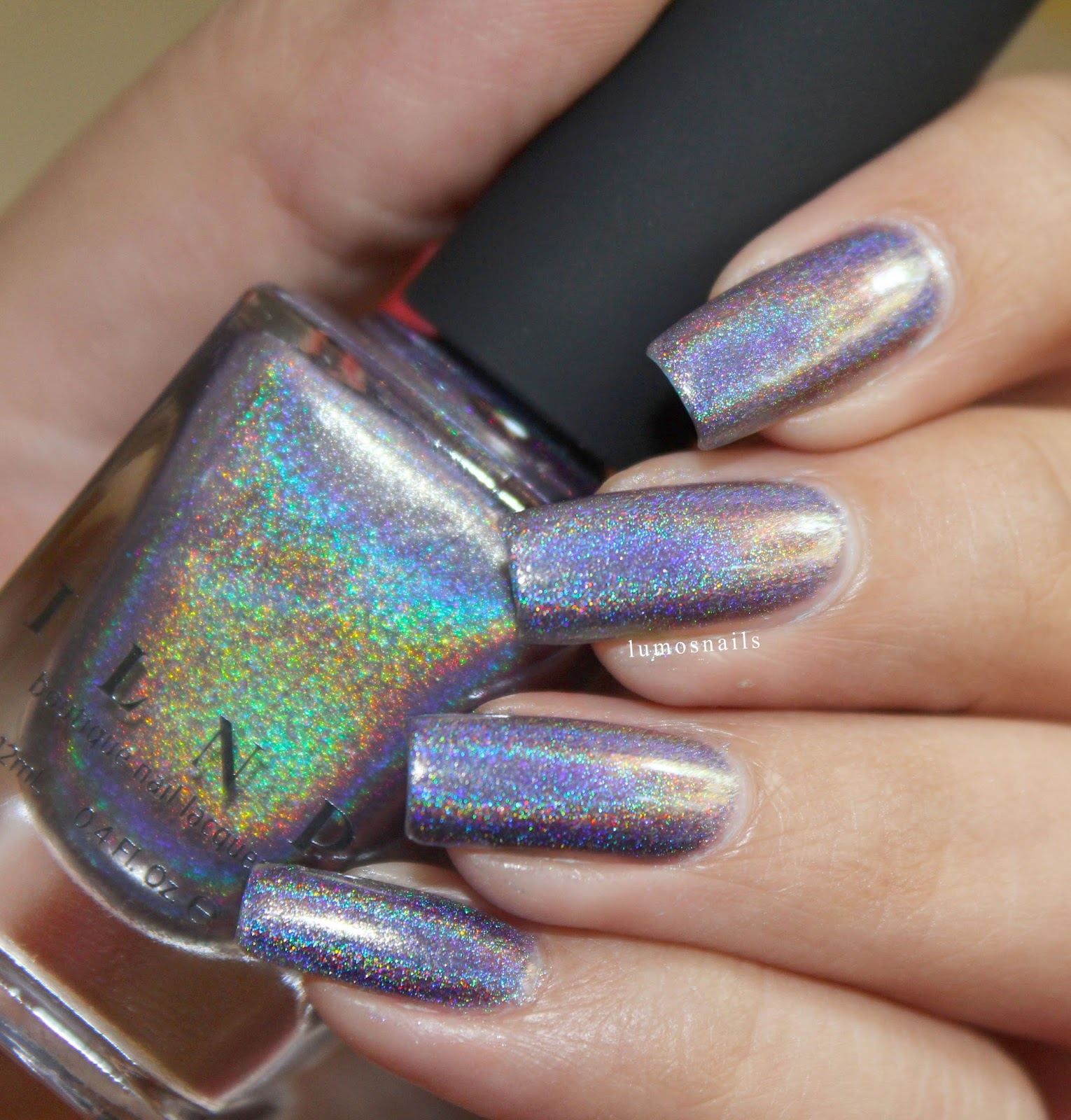 ILNP Ultra Holo : Deja Vu (Swatches and nail art)