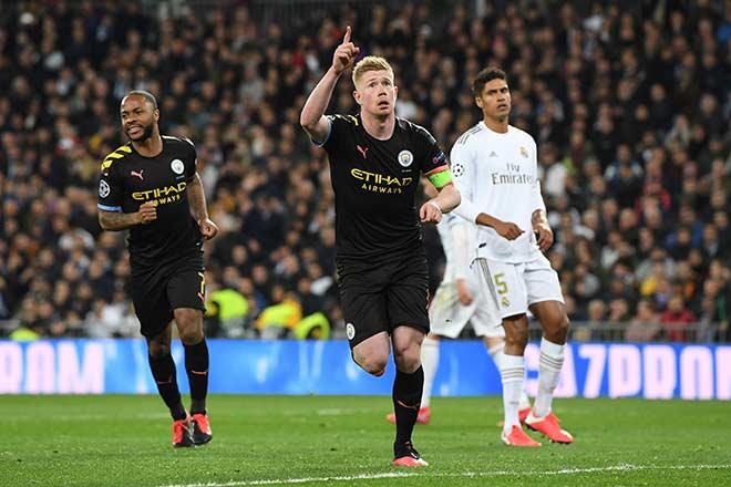 Man City có siêu hậu vệ giỏi hơn Van Dijk, Real khó ngược dòng Cúp C1