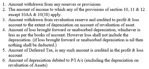 Minimum Alternate Tax (MAT) Under Section 115JB