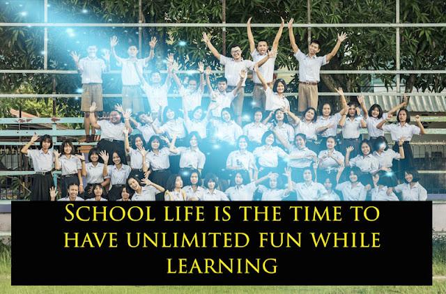 Best remarkable School life Quote