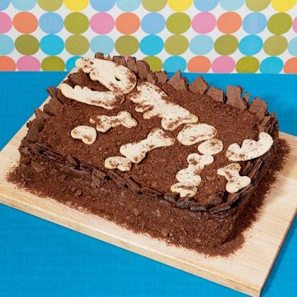 Dinosaur Dig Site Cake Recipe