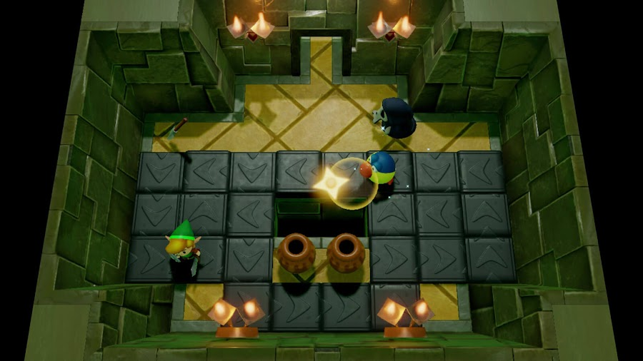 legend of zelda link's awakening remake dungeon creator nintendo switch