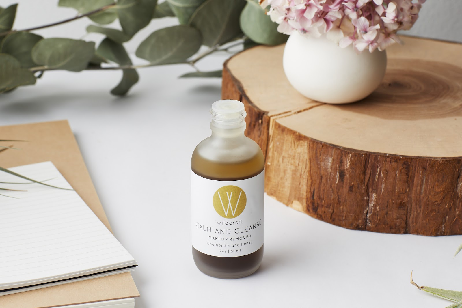 Wildcraft Calm and Cleanse Chamomile Honey Makeup Remover natural organic skincare canada hellolindasau