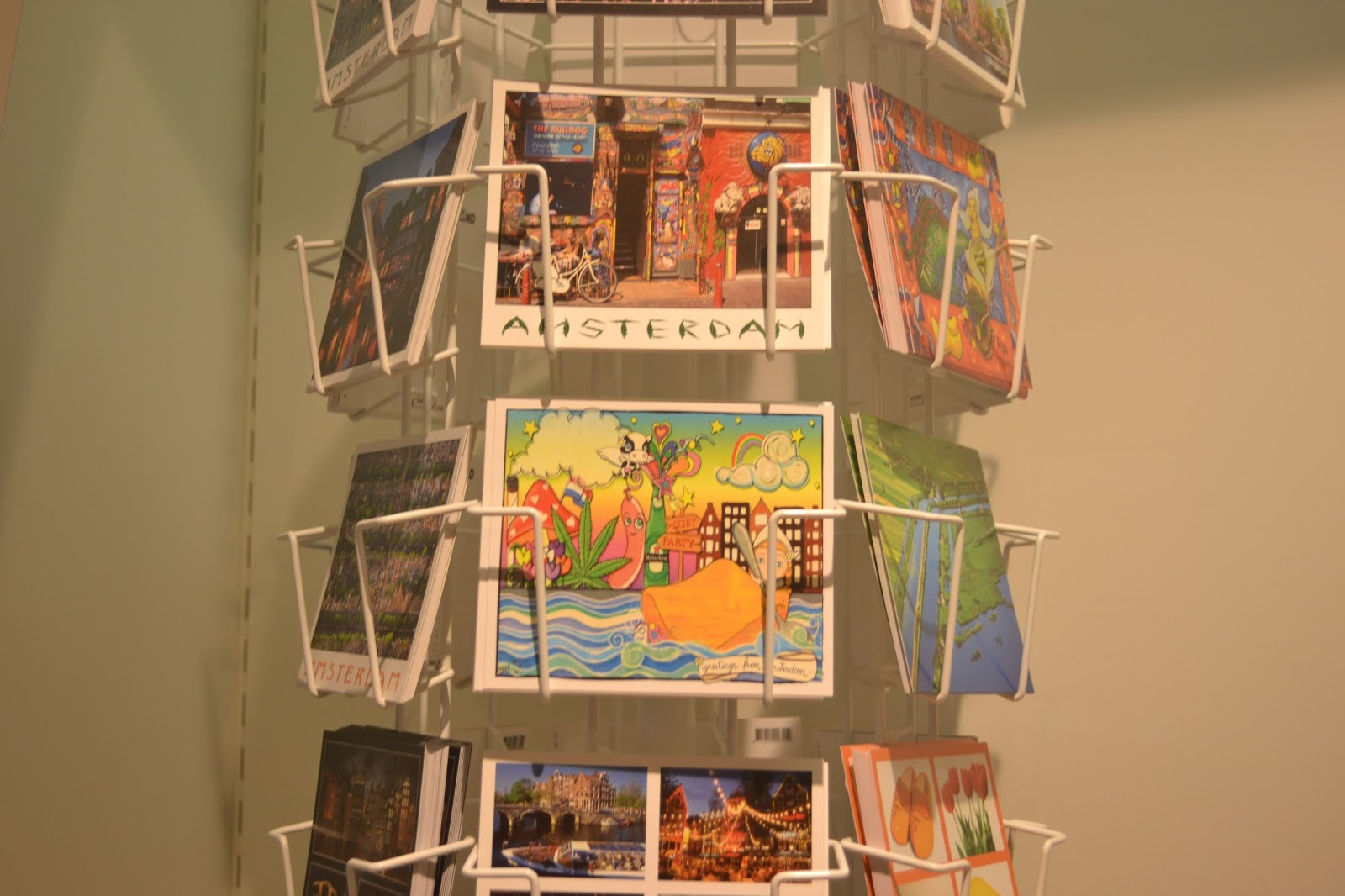 Amsterdam Postcards