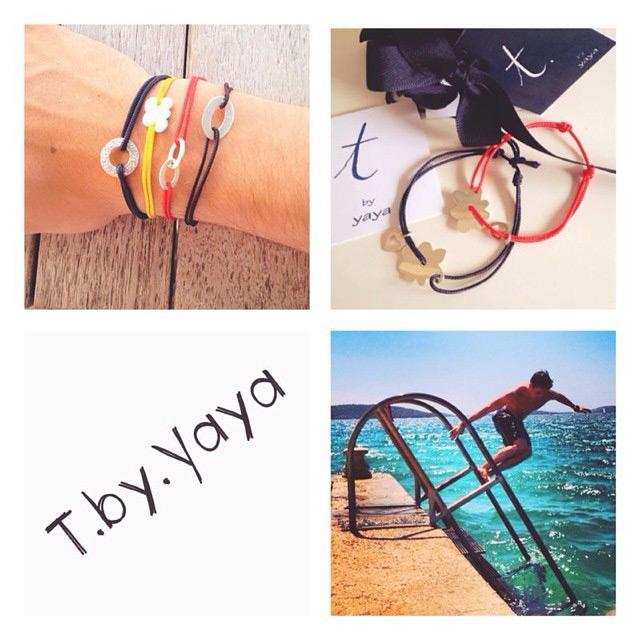 hand made bracelets t. by Yaya