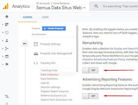 aktivasi laporan tracking data demografi google analytic