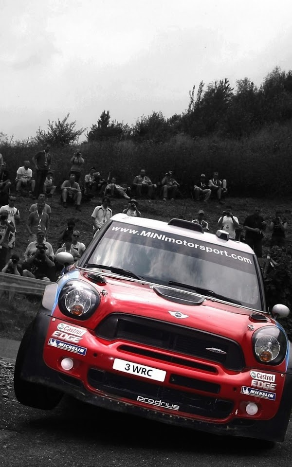 Black And White Red Mini Cooper Racing  Galaxy Note HD Wallpaper