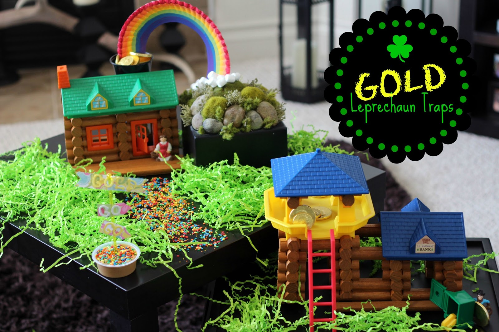 Worth Pinning Gold Leprechaun Traps For St Patricks Day