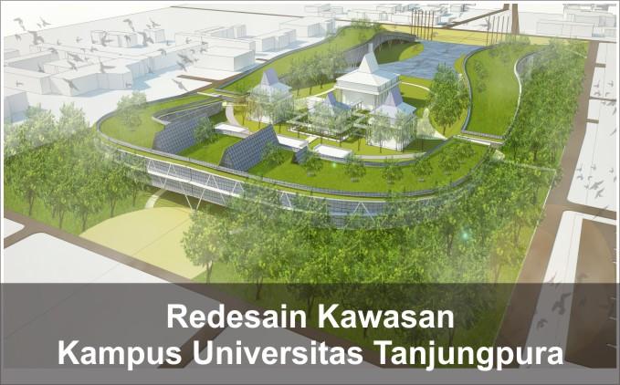 redesain kampus tanjungpura