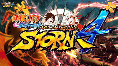 Naruto Shippuden Ultimate Ninja Storm 4 for Android PPSSPP