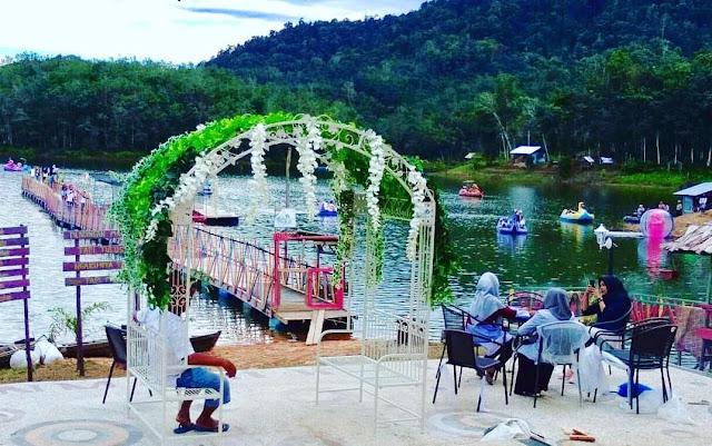 suasana Kota Bali Provinsi Riau