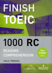 Sách Finish TOEIC 1000 RC – Sách Luyện Reading Hay