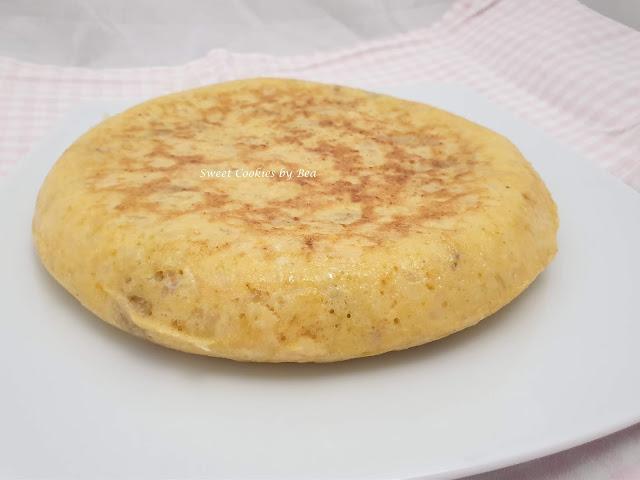 Tortilla de patatas asadas