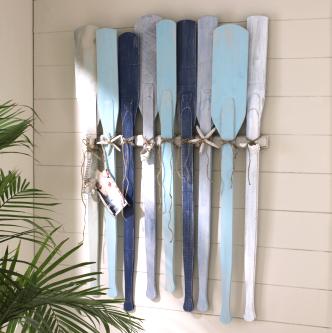 hanging oars