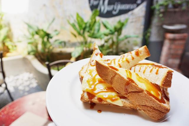 Kaya Kaya Cafe - Kaya Cheese Toast
