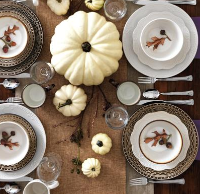 Fall tablescape from #AvonLiving