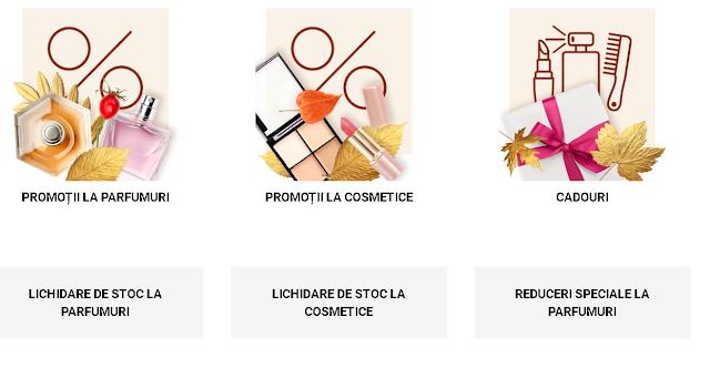 NOTINO.RO Oferte de top OCTOMBRIE  2020 → Promotii Parfumuri și cosmetice