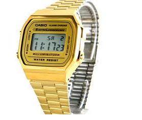 Jam Tangan untuk Wanita Casio Gold