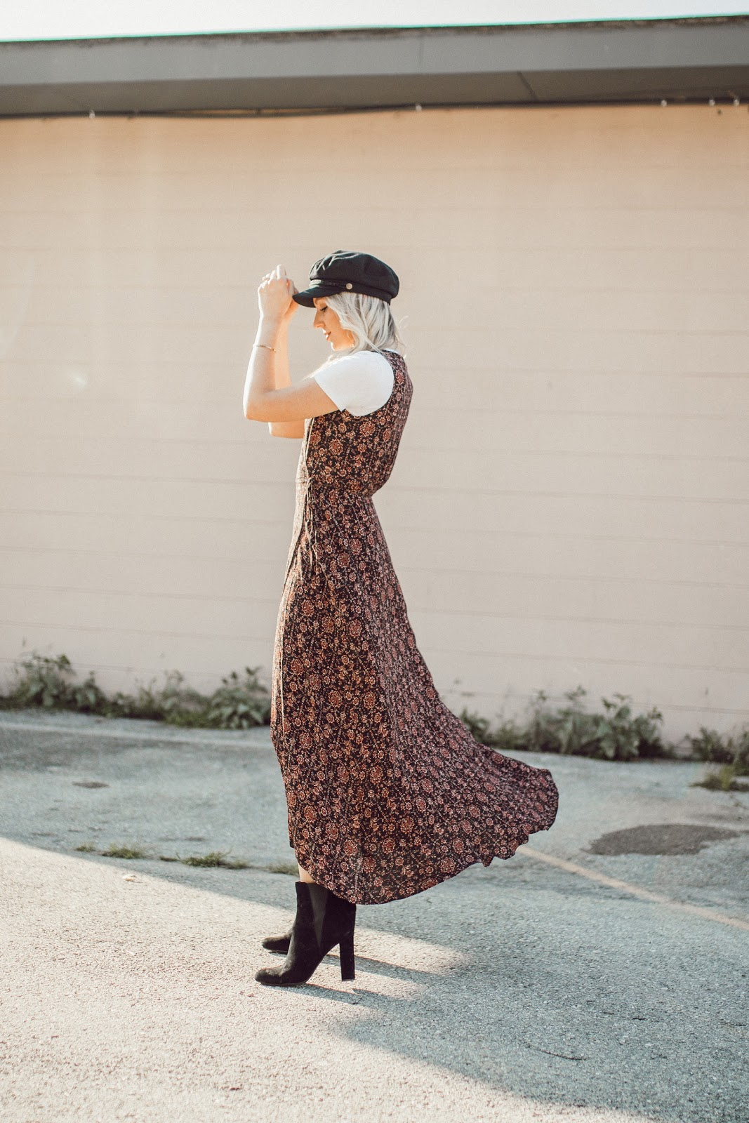 fall wrap dress