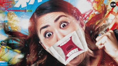 Naik Roller Coaster Dilarang Teriak, Biar Masker yang Bertindak