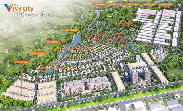 Mở bán đất nền The Viva City, giá từ 2,3tr/m2, chiết khấu 8%