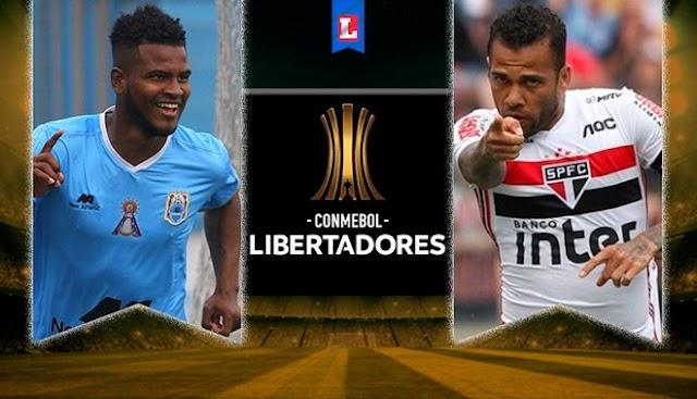 Copa Libertadores: Binacional VS Sao Paulo como ver en vivo 05 de Marzo