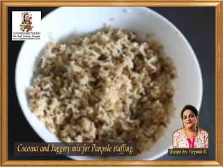 viaindiankitchen-recipe-panpole-coconutandjaggery-mixture