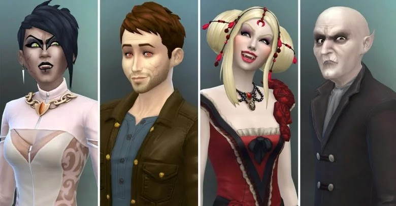 How to increase the level of vampire power in The Sims 4