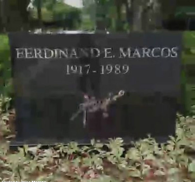 ferdinand e marcos burial at the People in the philippines express their views on the court decision permitting burial of ferdinand e marcos in the heroes' cemetery, manila.