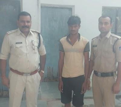 रन्नौद थाने पुलिस ने देशी कट्टा व जिंदा राउंड सहित एक आरोपी को दबोचा | Rannod News