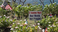 E Komo Mai means 'Welcome' - Diamond Head mini garden, Oahu, HI