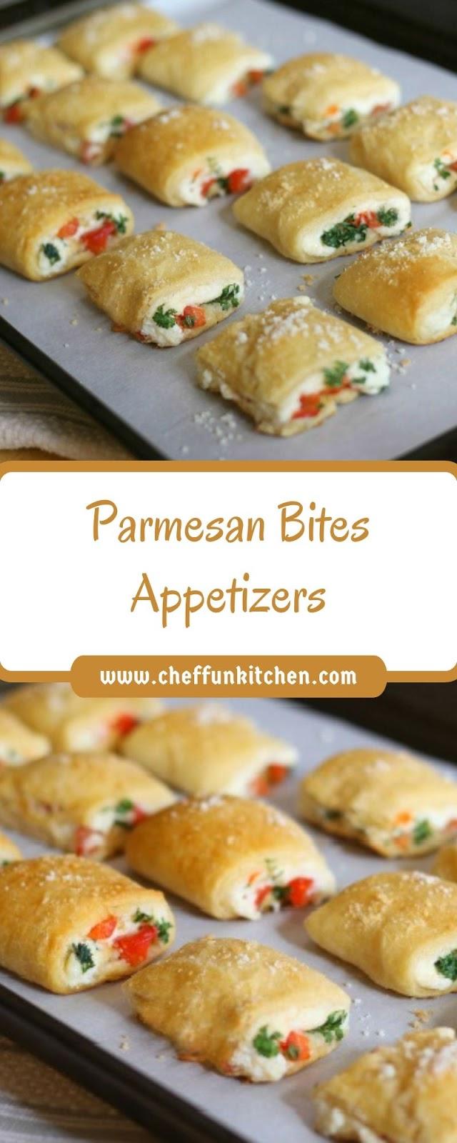 Parmesan Bites Appetizers