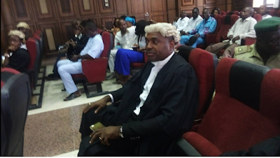 Nollywood Actor Kenneth Okonkwo In Court As Nnamdi Kanu's Trial Resumes Today.. PICS