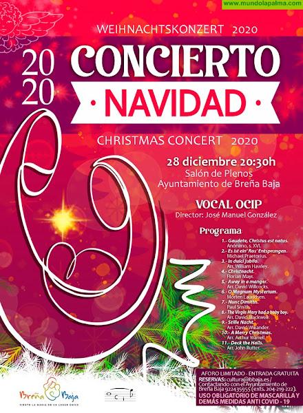 NAVIDAD BREÑA BAJA: Concierto Vocal OCIP