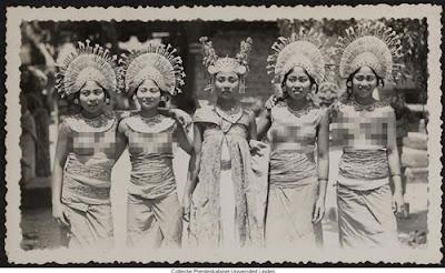 Gambar Pakaian Masyarakat Bali Tempo Dulu
