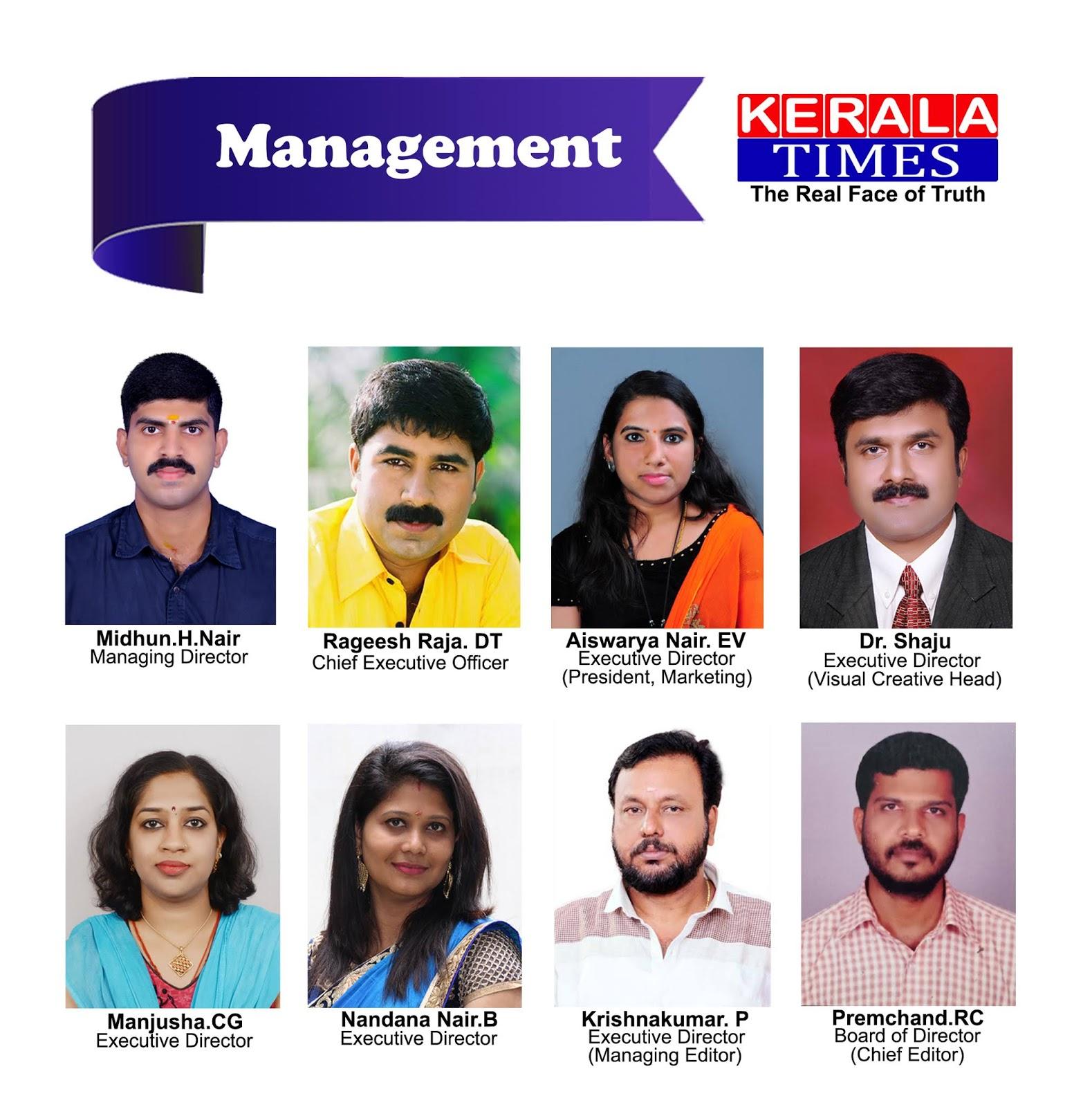 Kerala Times TV Board Members, www.thekeralatimes.com