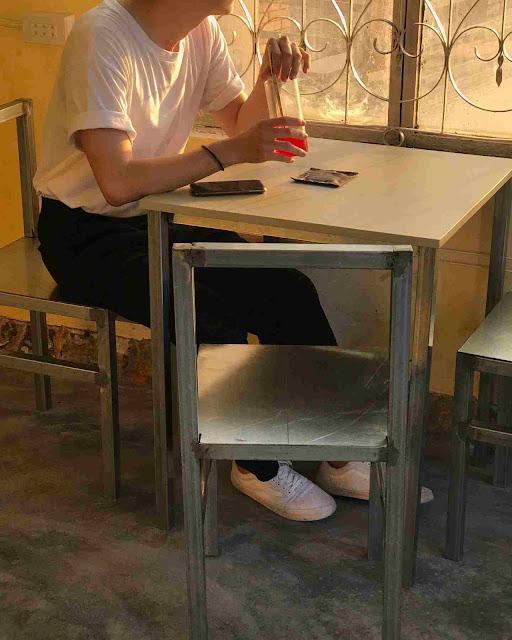 Check in Huế tại quán Lò Bánh
