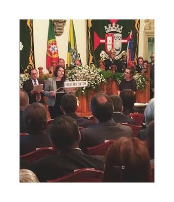 Intervenção da Deputada Municipal Leila Fidalgo Ferreira na Assembleia Municipal de dia 14 de dezembro de 2018
