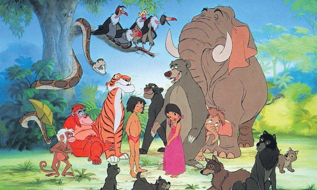 Duoscope Das Dschungelbuch Usa 1967 - Disneys Letztes -5091