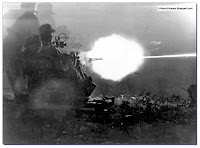 Germans firing  20 mm Flak 30 anti-aircraft gun in Italy 1943