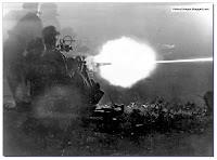 Germans firing  20 mm Flak 30 anti-aircraft gun in Italy 1943