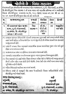 Aashramshala Recruitment 2021 JOB Details