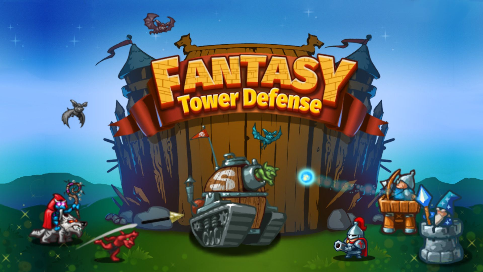 Fantasy Tower Defense v1.0 NSP XCI For Nintendo Switch